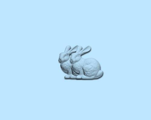 Stanford Bunny (x 2)