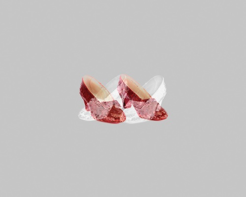 Ruby Slippers / Silver Shoes
