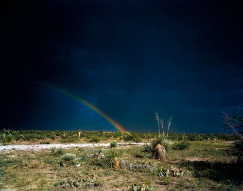 Rainbow, Deming, NM July 2007